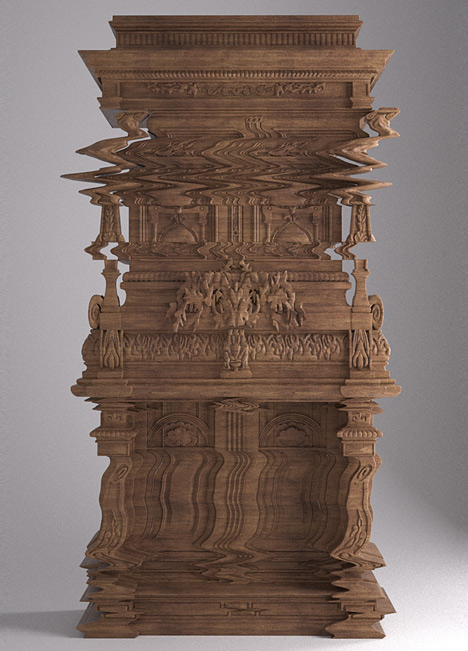 Distorted Cabinet